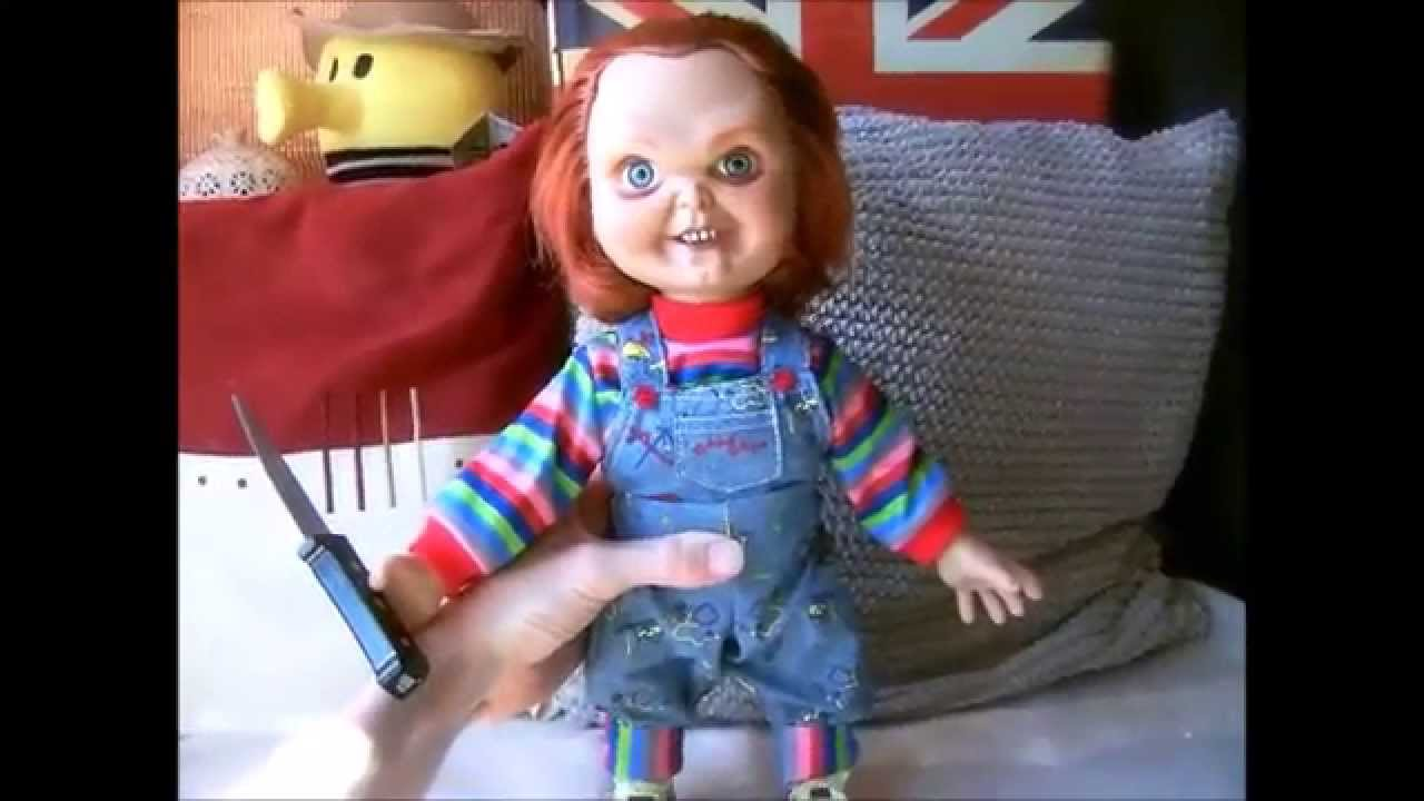 Mezco New Talking 15 Inch Chucky Doll Youtube