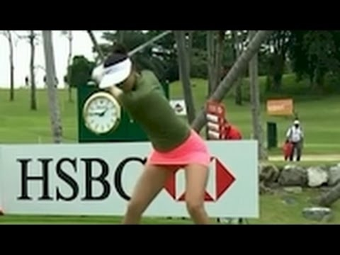 Incredibly Sexy Video of Michelle Wie 2017 HSBC Womens Champions LPGA Golf Tournament