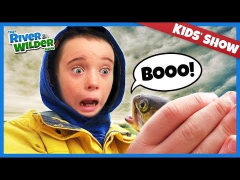 Spooky Halloween kids fishing adventure | River and Wilder |
