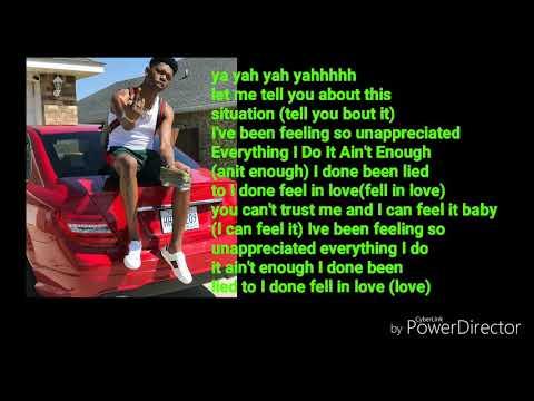 Yung Bleu unappreciated lyrics