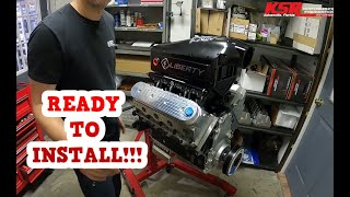 Mullet El Camino Build Episode 2! Engine Back Together....but There Were Issues!