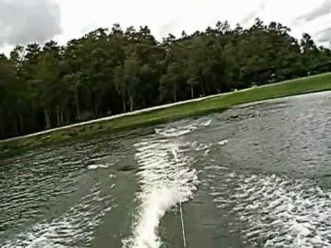 Waterskiing: Slalom Course