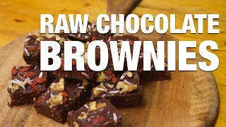 How To Make Raw Chocolate Brownies - Amazing Chocolate Brownies Recipe!