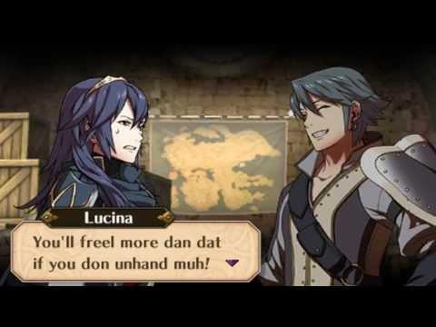 Fire Emblem Awakening - Inigo & Lucina Support Conversations