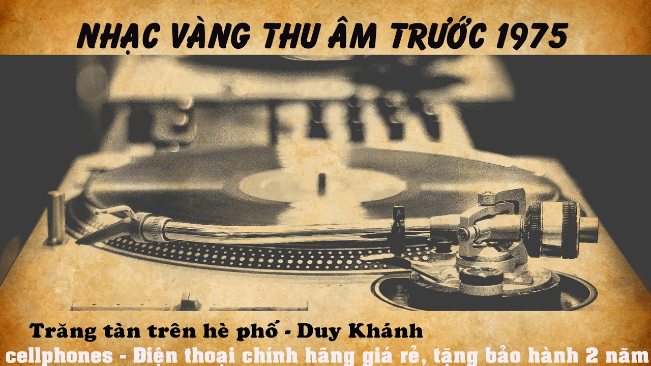 Trăng tàn trên hè phố - Duy Khánh
