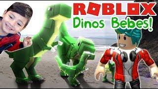 Dinosaures de bébés dans Roblox Tycoon du monde jurassique Jeu pour enfants Jurassic World