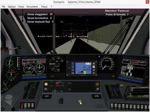Simulatore Treno 5.01 / Salerno - Napoli C.F. con il Minuetto!