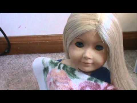 how to un frizz your american girl doll 39 s hair youtube. Black Bedroom Furniture Sets. Home Design Ideas