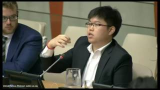 Q1 Steve Lee Q&A Panel at United Nations International Youth Day 2016