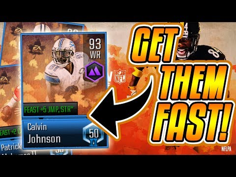 HOW TO GET THE MADDEN FEAST MASTERS FAST!-Madden Overdrive