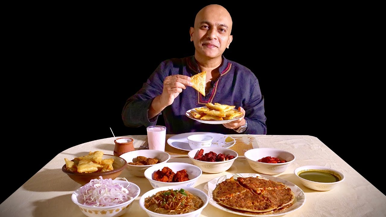RAMADAN MUBARAK! Haleem, Samosa, Shami Kebab, Phirni | SHARIEF BHAI Iftar Takeaway | Rerun Episode