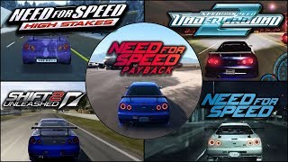 Nissan Skyline R34 GTR Evolution in Need For Speed