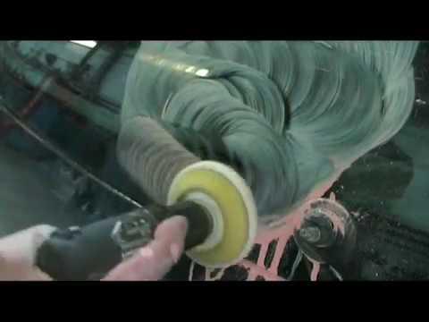 Polissage D Une Rayure Sur Un Pare Brise Oxyde De Cerium Car Window Repair Youtube