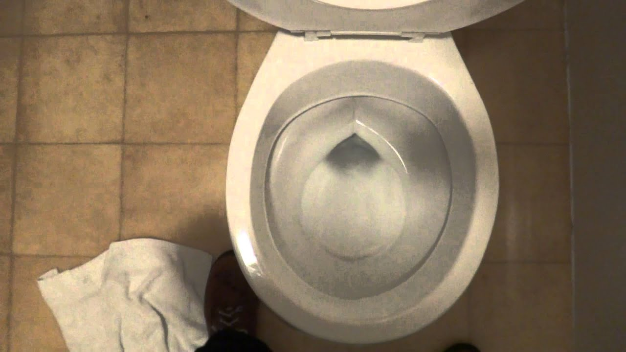 Bathroom Tour Crane Toilet Spanish Manor Inn Motel Olive
