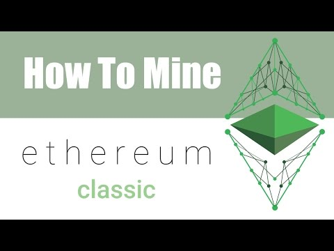 How To Mine Ethereum Classic ETC On Windows