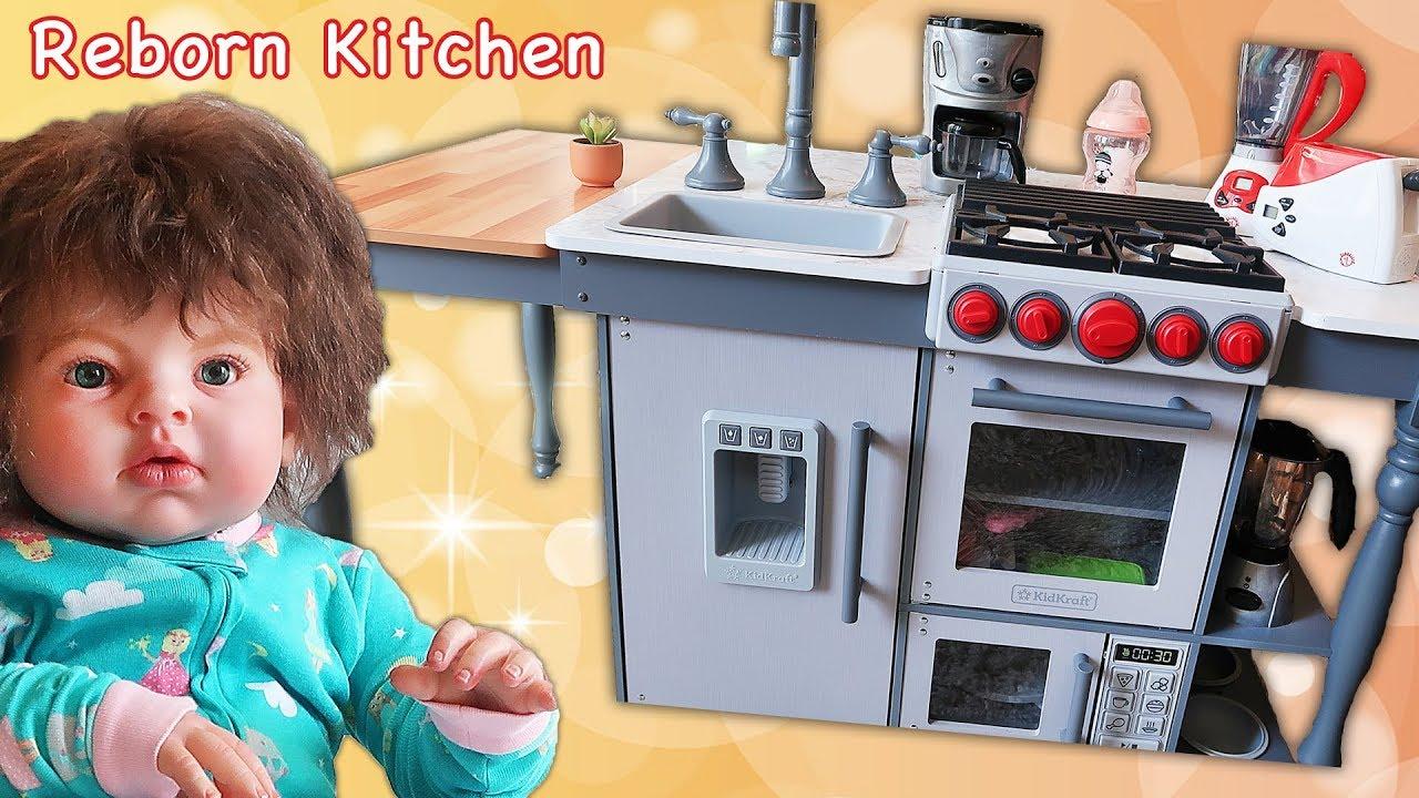 Reborn Doll Gets Costco Kidkraft Chef S