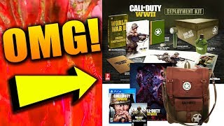 COD WWII SPECIAL EDITION WITH BACKPACK AND DEPLOYMENT KIT! - Call of Duty: World War II