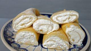 Jak zrobić naleśniki z serem? | Miękkie i puszyste ciasto | Przepis na domowe naleśniki na słodko