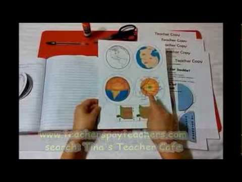 Earth Science Flip Foldable