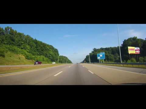 Driving from Johnson City, Tennessee to Kingsport, TN on I26