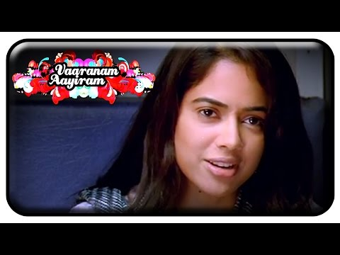 Vaaranam Aayiram Movie | Scenes | Suriya cutest proposal to Sameera Reddy | Gautham Menon