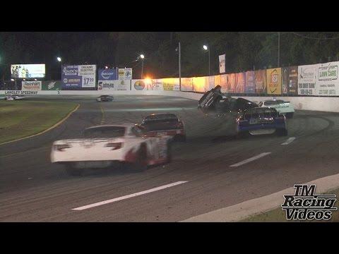 Langley Speedway - 7/25/15 - Hampton Heat 200 - Full Race