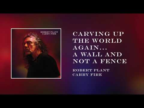 Robert Plant - Carving Up the World...