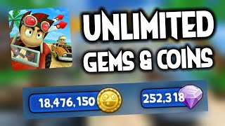 Gambar cover Beach Buggy Racing MOD | Unlimited Coins & Gems HACK [APK]