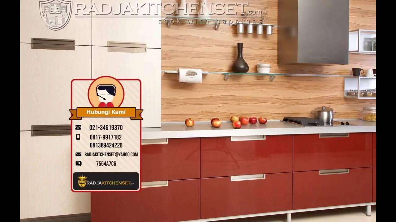 Kitchen Set Murah Jakarta Pusat 081389424220 Youtube