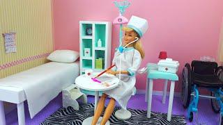 BARBIE HACKS - MINIATURE Items for DOCTOR