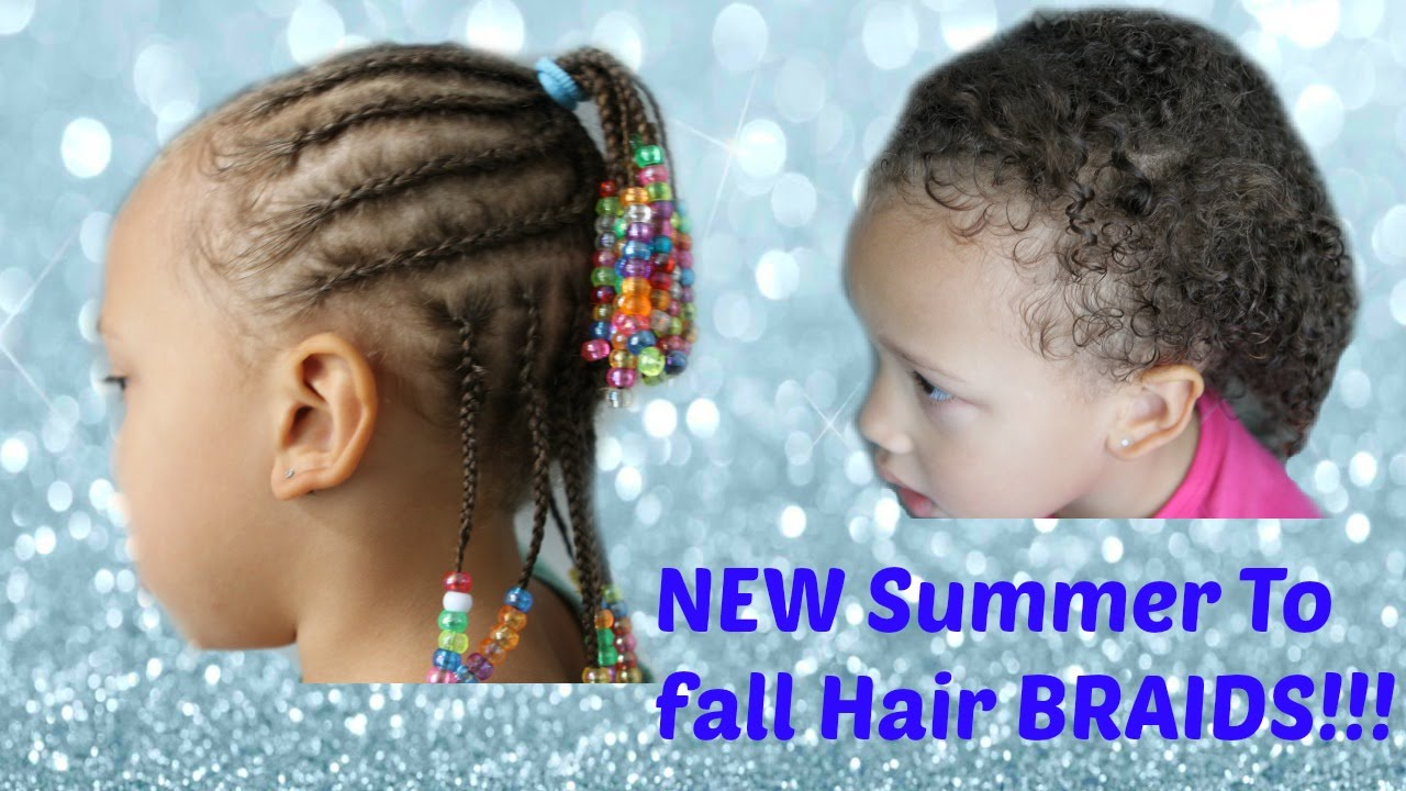 How To Do Kid Hair Braids With Beads