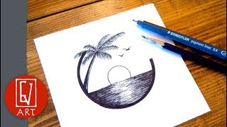 Simple Drawing Ideas With Pen