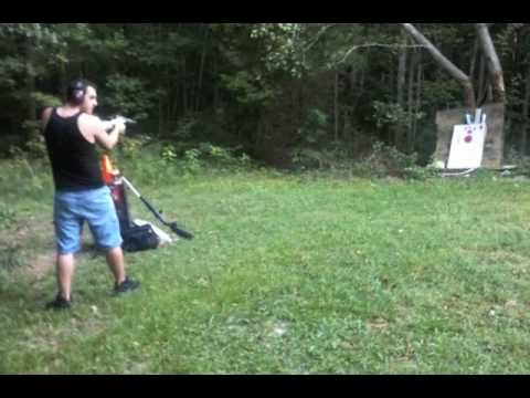 Wasting Bullets  Shooting TV with 9mm Ruger SR9