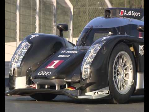 Comparison Audi R15 TDI vs Audi R18 TDI