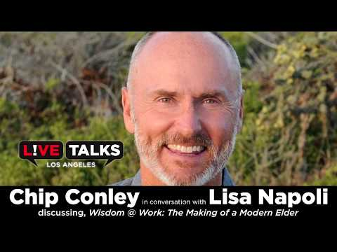 Chip Conley in conversation with Lisa Napoli at Live Talks Los Angeles