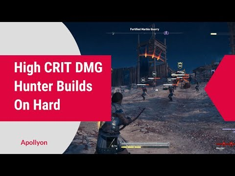 High Crit Dmg Hunter Build - On Hard - Assassin's Creed Odyssey thumbnail