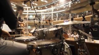 감사와찬양드리며 for the lord is good drummer 엄주원 청운교회 나우 dw drums bosphorus cymbals worship song funk