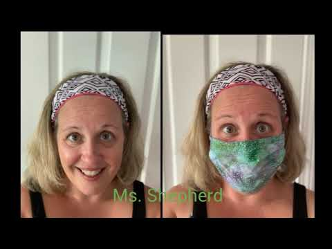 Welcome Back to Hussey Video!  See most of our staff with and without masks!