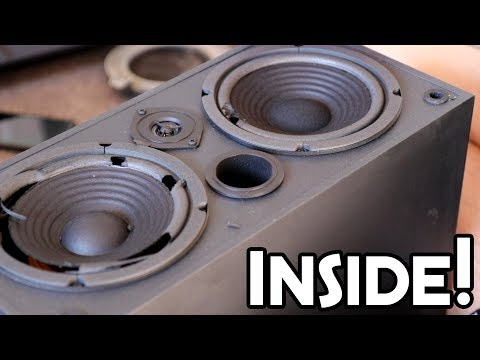 WHATS INSIDE? - Sony, Teac, Technics and JVC speakers!