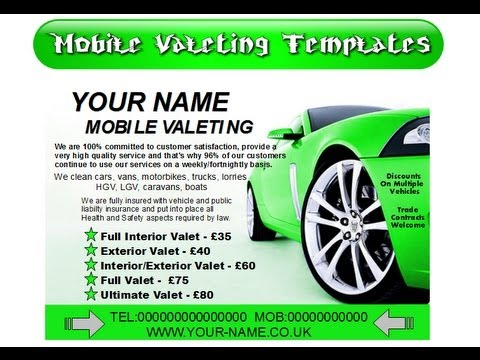 How To Start A Mobile Car Valeting Business Youtube