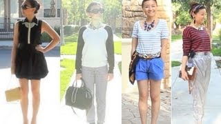 Spring Summer Fashion Trends 2013 and Style Lookbook - Black and White, Striped Prints Thumbnail