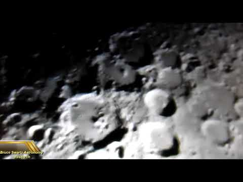 Unidentified Flying Objects On The Lunar Surface Live Footage