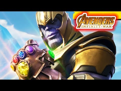 THANOS THE MAD TITAN Joins FORTNITE!