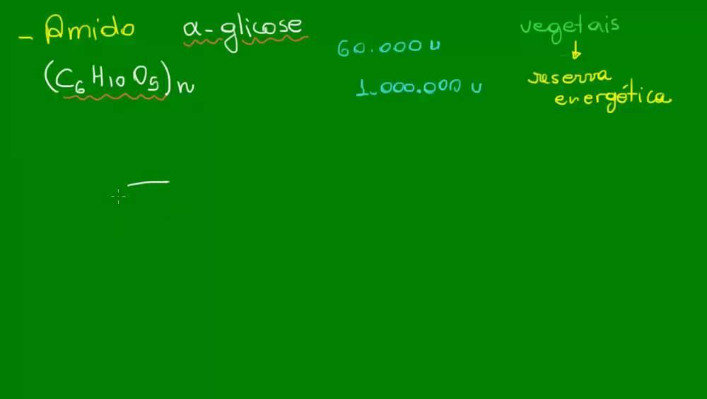Amido E Glicogênio Química Orgânica Química