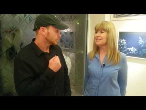 Mark Llewhellin interview TV Weather Girl and Documentary Film Maker Sian Lloyd
