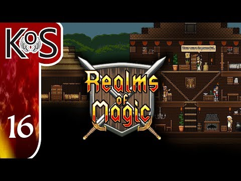 Realms Of Magic Ep 16: MINING FOR PRECIOUS METALS - First Look - (Early Access) Let's Play, Gameplay