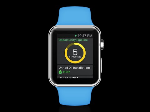 Veloxy Mobile CRM (Apple Watch) for Salesforce