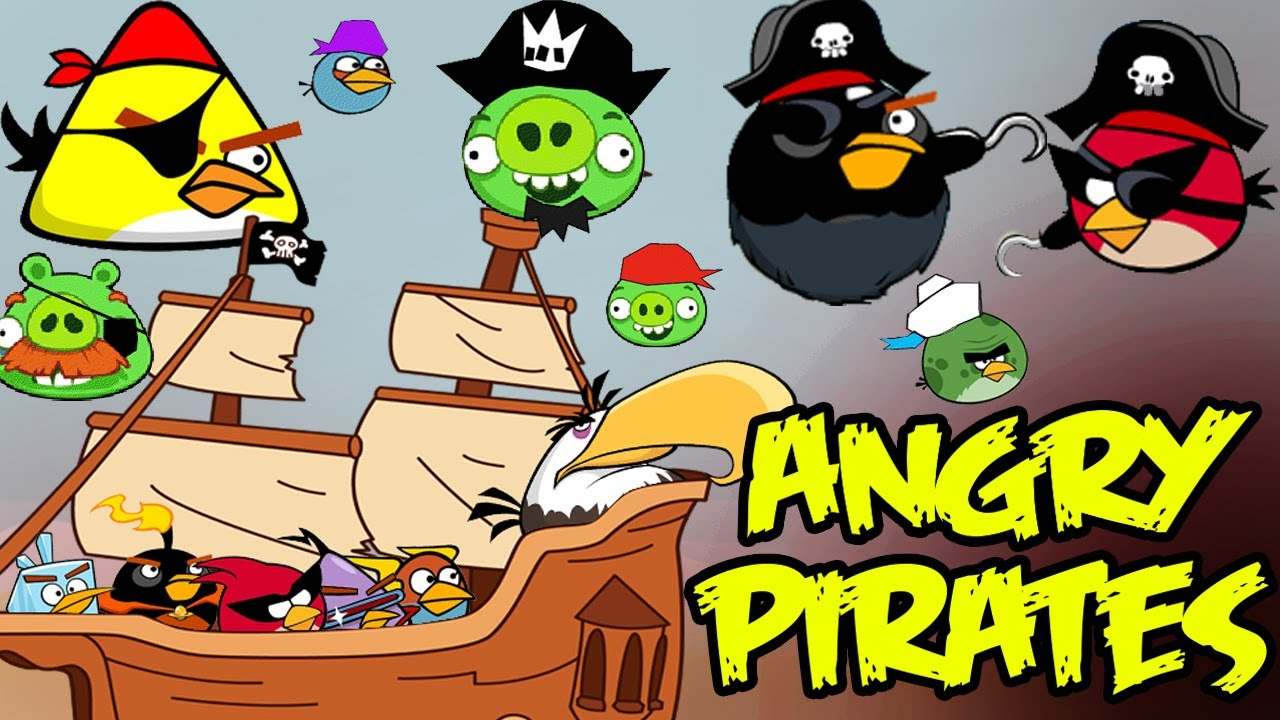 Download Angry Jack Sparrow(angry birds pirate parody)