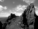 Skellig Rocks in B&W - Loreena McKennitt