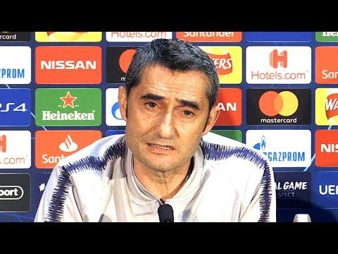 Ernesto Valverde Full Pre-Match Press Conference - Manchester United v Barcelona - Champions League